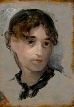 Eva Gonzalès, Autoritratto | Autoportrait