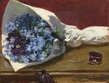 Eva Gonzalès, Bouquet di fiori   Bouquet de fleurs