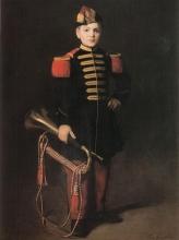 Eva Gonzalès, Enfant de troupe