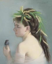 Eva Gonzalès, Il passero | Le moineau