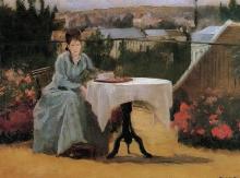 Eva Gonzalès, Il tè del pomeriggio | Afternoon tea