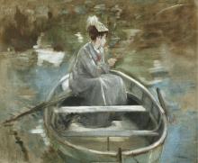 Eva Gonzalès, in barca | En bateau