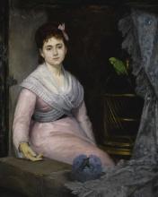 Eva Gonzalès, L'indolenza   L'indolence
