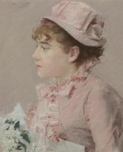Eva Gonzalès, La damigella d'onore | La demoiselle d'honneur