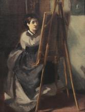 Eva Gonzalès, La giovane allieva | La jeune élève