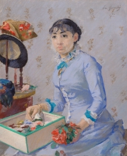 Eva Gonzalès, La modista   La modiste   The milliner