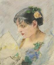 Eva Gonzalès, La spagnola (Ritratto della modista)   L'espagnole (Portrait de la modiste)