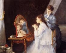 Eva Gonzalès, Le petit lever