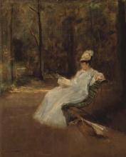 Eva Gonzalès, Nel parco | Dans le parc