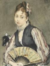 Eva Gonzalès, Ritratto di Jeanne Gonzalès   Portrait de Jeanne Gonzalès