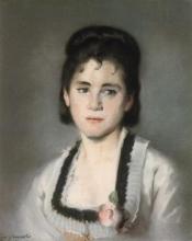 Eva Gonzalès, Ritratto di Jeanne | Portrait de Jeanne