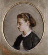 Eva Gonzalès, Ritratto di donna | Portrait de femme