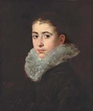 Eva Gonzalès, Ritratto di ragazza | Portrait de jeune fille
