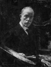 Giacomo Grosso, Autoritratto [1916]