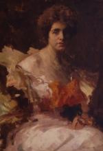 Giacomo Grosso, Ritratto della signora A. Carriè