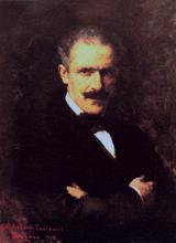 Giacomo Grosso, Ritratto di Arturo Toscanini