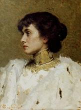 cesare Tallone, Ritratto femminile