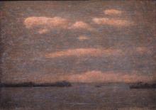 Vittore Grubicy de Dragon, In barca a Venezia