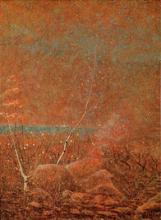 Vittore Grubicy de Dragon, Inverno in montagna (Terzetto tenue)