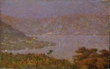Vittore Grubicy de Dragon, Perle d'amour (Nebbiolina sul lago)
