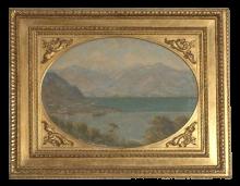 Vittore Grubicy de Dragon, Veduta del lago Maggiore
