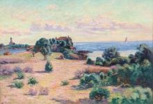 Jean-Baptiste Armand Guillaumin, Agay, Phare de la Baumette, Baie de Boulouris