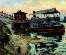 Jean-Baptiste Armand Guillaumin, Il traghetto   Ferry boat