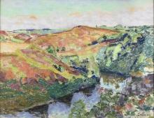 Jean-Baptiste Armand Guillaumin, Paesaggio a Crozant | Landscape in Crozant