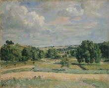 Jean-Baptiste Armand Guillaumin, Paesaggio, tempo di raccolta nella valle della Somme | Landscape: harvest-time in the Somme valley
