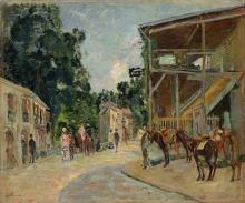 Jean-Baptiste Armand Guillaumin, Passeggiata a Robinson | Promenade à Robinson | Promenade at Robinson