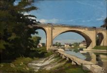 Harpignies, Il ponte della ferrovia a Briare | Le pont ferroviaire de Briare | The railroad bridge at Briare