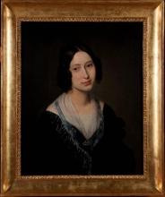 Francesco Hayez (attribuito a), Ritratto di giovane donna (Carolina Zucchi?)