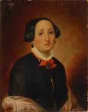 Francesco Hayez, (attribuito a), Ritratto femminile