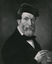 Francesco Hayez, Autoritratto (1840-1860)