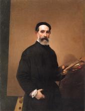 Francesco Hayez, Autoritratto [1862]