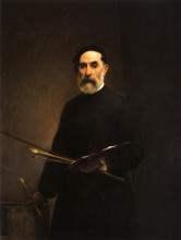 Francesco Hayez, Autoritratto a settantuno anni