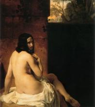 Francesco Hayez, Bagnante