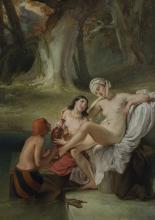 Francesco Hayez, Betsabea al bagno