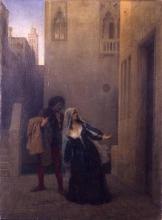 Francesco Hayez, Bianca Capello abbandona la casa paterna