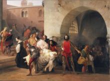 Francesco Hayez, Bice ritrovata da Marco Visconti nel sotterraneo del suo castello di Rosate