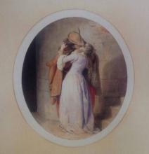 Francesco Hayez, Bozzetto per 'Il bacio'