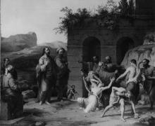 Francesco Hayez, Cristo e l'adultera