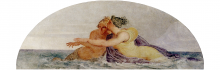 Francesco Hayez, Due Nereidi, 1819, cm. 91,5 x 250,5