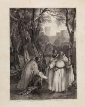 Francesco Hayez, Episodio dell'Ivanhoe di Walter Scott