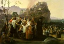 Francesco Hayez, Gli abitanti di Parga che abbandonano la loro patria
