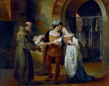 Francesco Hayez, Gli sponsali di Giulietta e Romeo procurati da fra' Lorenzo