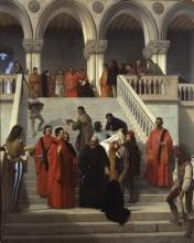 Francesco Hayez, Gli ultimi momenti del doge Marin Faliero sulla scala detta del piombo