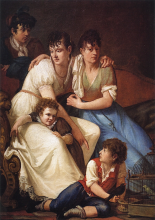 Francesco Hayez, Gruppo di famiglia