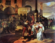 Francesco Hayez, I Vespri Siciliani [1822]