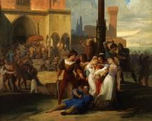 Francesco Hayez, I Vespri Siciliani [1826]